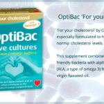 OptiBac Probiotics with Omega 3 Tablets