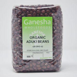 Organic Dried Aduki beans 500g