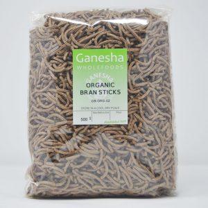 Organic Bran Sticks 500g