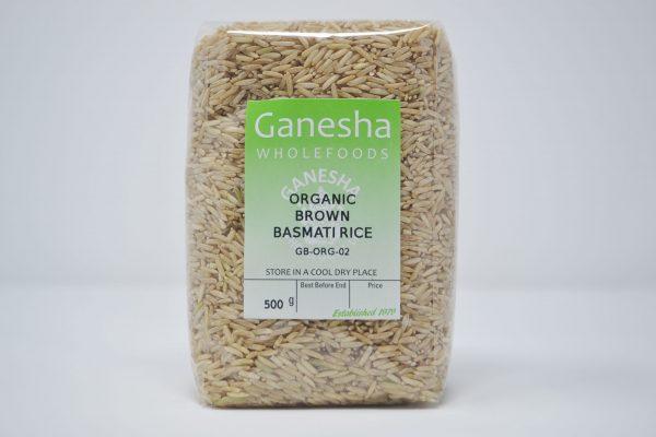 Organic Brown Basmati Rice 500g