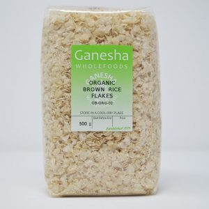 Organic Brown Rice Flakes 500g