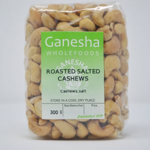Roasted Salted Cashews 300g