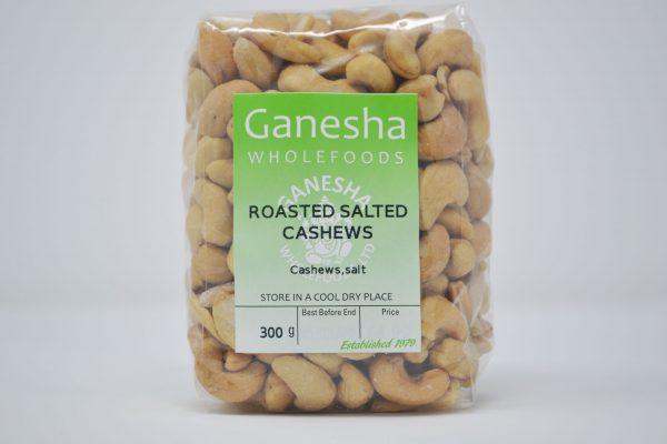 Roasted Salted Cashews 300g