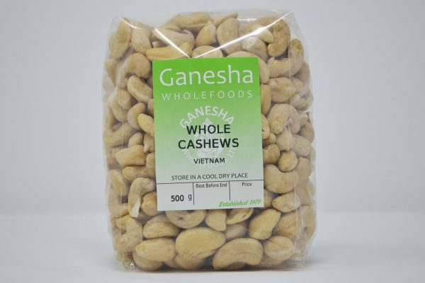 Whole Cashews 500g