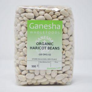 Organic Dried Haricot Beans 500g
