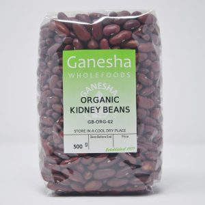 Organic Dried Kidney Beans 500g