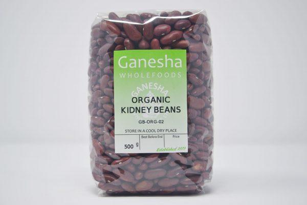 Organic Dried Kidney Beans 500g