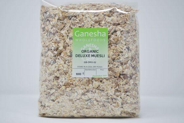 Organic Deluxe Muesli 1kg