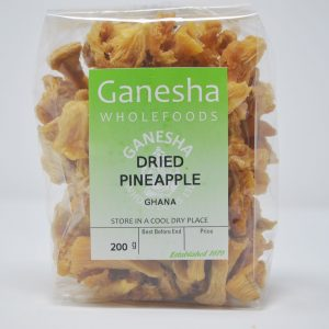 Dried Pineapple 200g