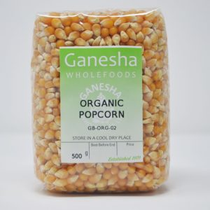 Organic Popcorn 500g