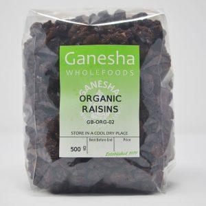 Organic Raisins 500g