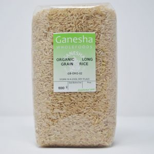 Organic Long Grain Rice 1kg