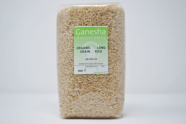 Organic Long Grain Rice 1kg