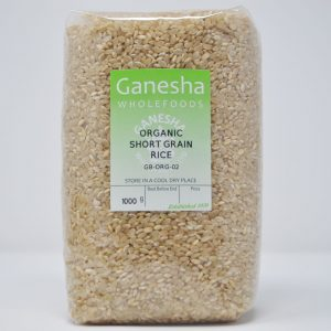 Organic Short Grain Rice 1kg