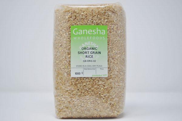 Organic Short Grain Rice 1kg