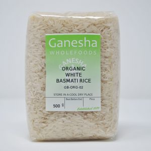 Organic White Basmati Rice 500g