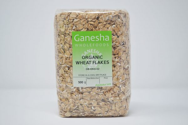 Organic Wheat Flakes 500g