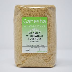 Organic Wholewheat Cous Cous 500g