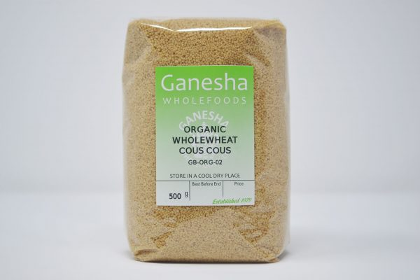 Organic Wholewheat Cous Cous 500g
