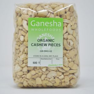 Organic Cashew Pieces 500g