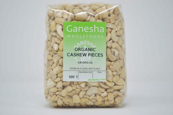 Organic Cashew Pieces 500g