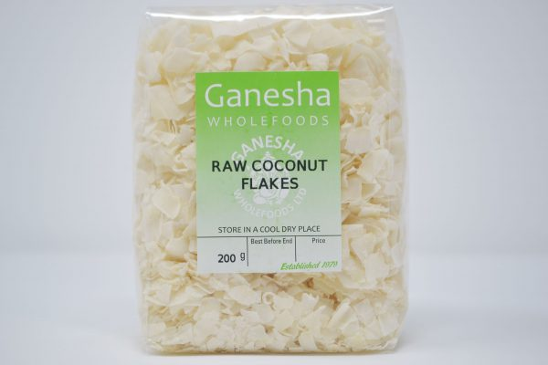 Raw Coconut Flakes 200g