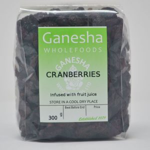 Dried Cranberries 300g