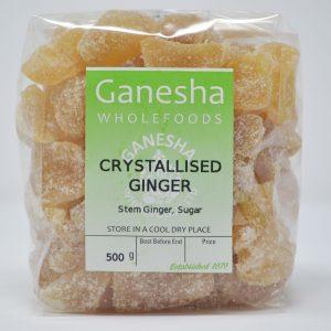 Crystallised Ginger 500g