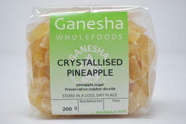 Crystallised Pineapple 200g