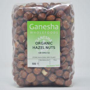 Organic Hazelnuts 500g