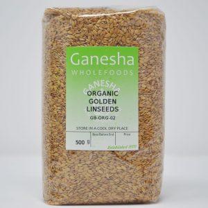 Organic Golden Linseeds 500g