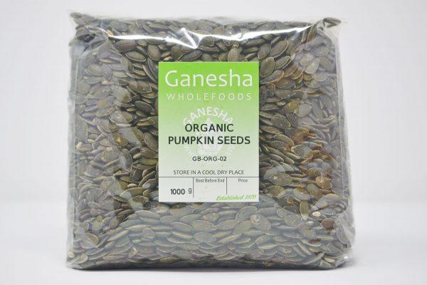 Organic Pumpkin Seeds 1kg