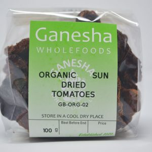 Organic Sun Dried Tomatoes 100g