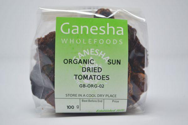 Organic Sun Dried Tomatoes 100g