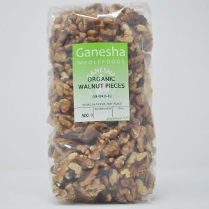 Walnut Pieces Organic 500g