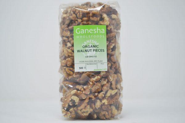 Walnut Pieces Organic 500g