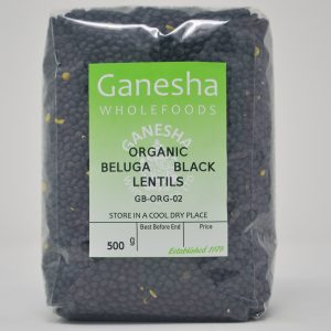 Organic Black Beluga Lentils