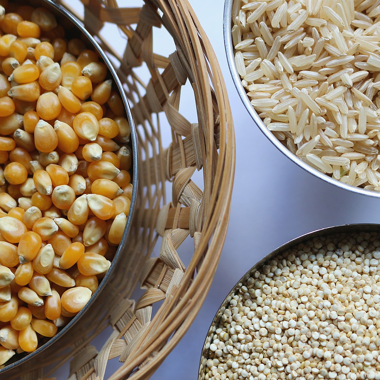 Rice, corn and grains at Ganesha Wholefoods Online