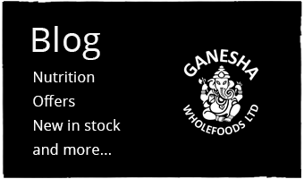 Ganesha Wholefoods Blog - Nutrition, News, New Stock, Deals and Offers